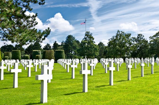 Viagem de um dia às praias e aos campos de batalha do Dia D na Normandia