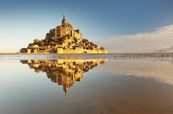 Viagem diurna ao Monte Saint-Michel saindo de Paris, incluindo almoço local