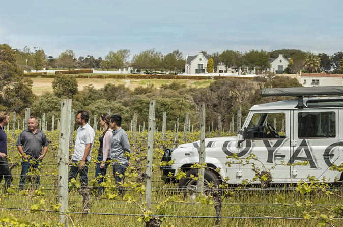 Voyager Estate Winery Tour and Tasting with 3-Course Lunch or 6-Course Vineyard-to-Table Experience