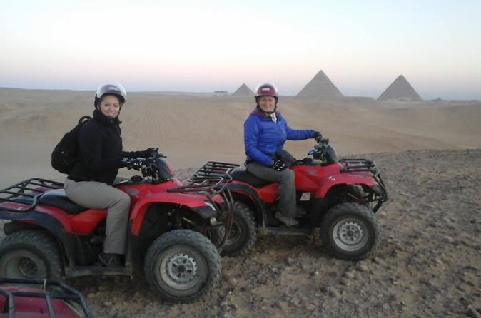 Cairo Guided Tour to Giza pyramids With Quad Bike in Egypt Africa