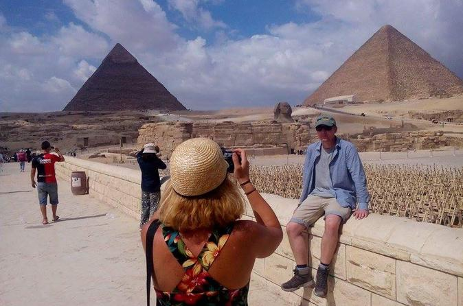 Half-Day Private Tour of Giza Pyramids and Sphinx
