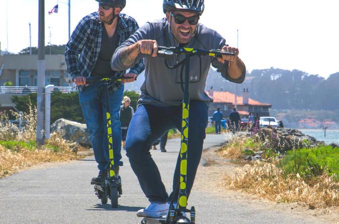 Electric Scooter San Francisco to Bridge Tour & Adventure
