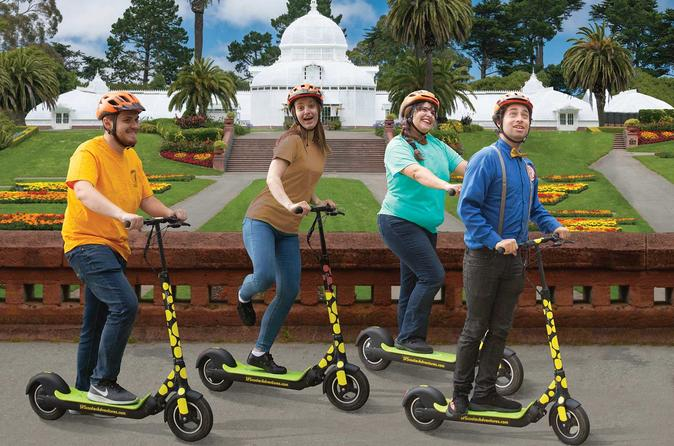 Golden Gate Park Quick & Fun Electric Scooter Tour