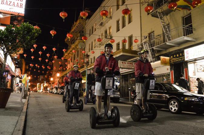 San Francisco at Night: Segway Tour of North Beach, Chinatown and the Embarcadero