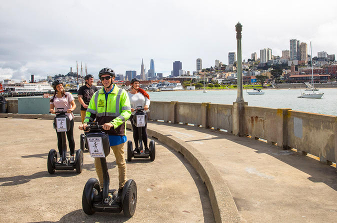 San francisco wharf and waterfront segway tour in san francisco 550675