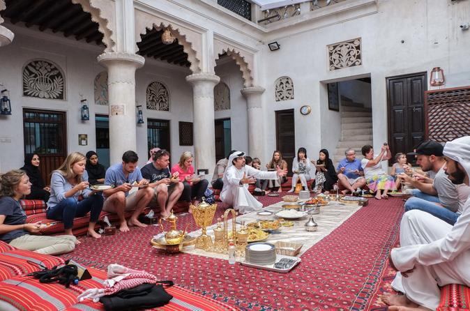 Authentic emirati cultural meal and talk in old dubai in dubai 666258