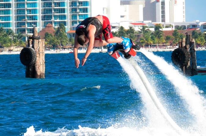 Flyboard à Cancun