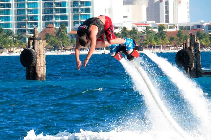 Flyboard in Cancun