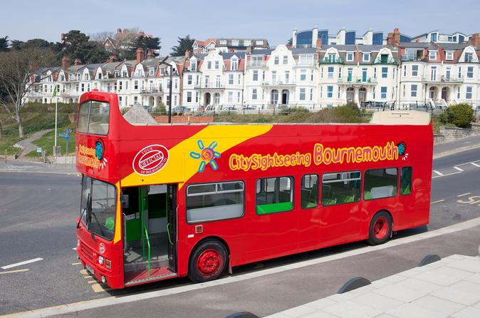 City sightseeing bournemouth hop on hop off tour in bournemouth 190177