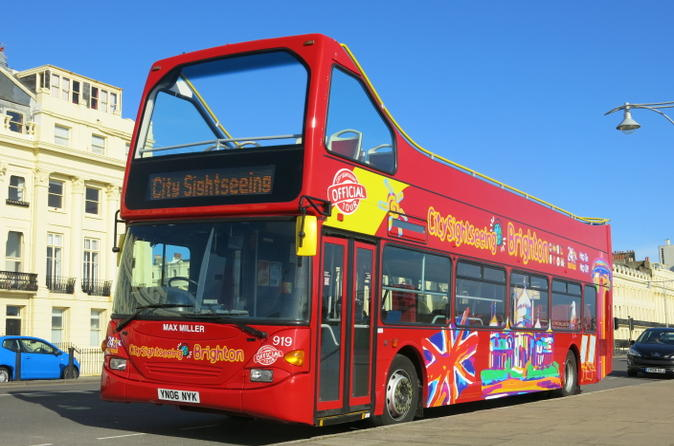 City sightseeing brighton hop on hop off tour in brighton 184081
