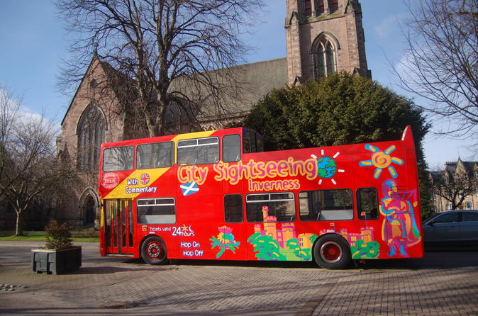 City sightseeing inverness hop on hop off tour in inverness 184105