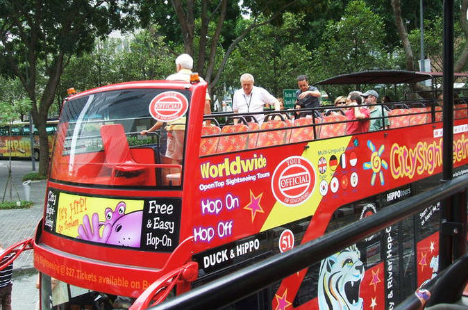 City Sightseeing Singapore Hop-On Hop-Off Tour
