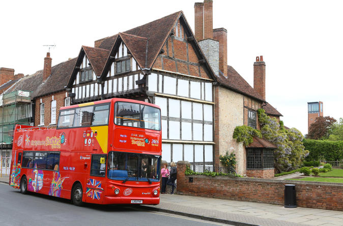 City sightseeing stratford upon avon hop on hop off tour in stratford upon avon 184118