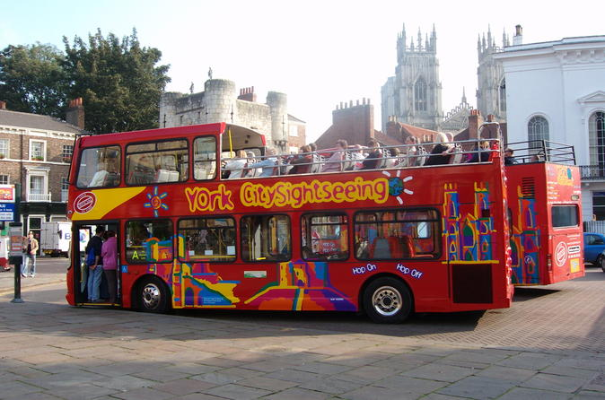 City sightseeing york hop on hop off tour in york 151997