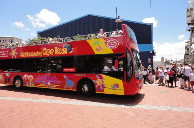 Excursão turística em ônibus panorâmico pela Cidade do Cabo