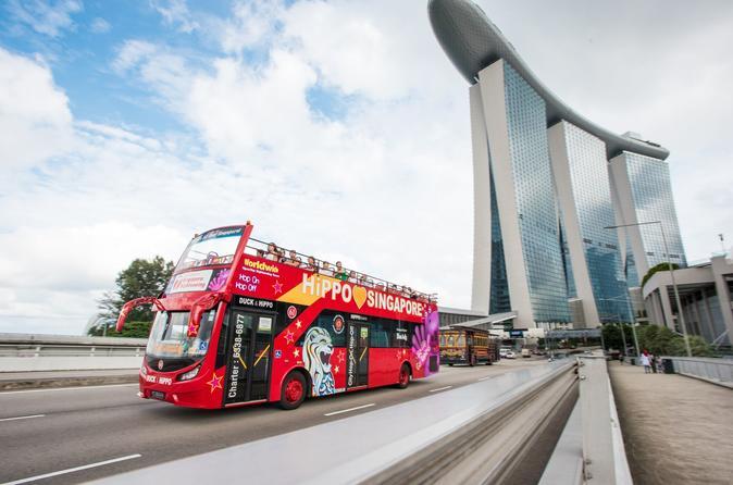 Excursão turística pela cidade de Cingapura em ônibus panorâmico