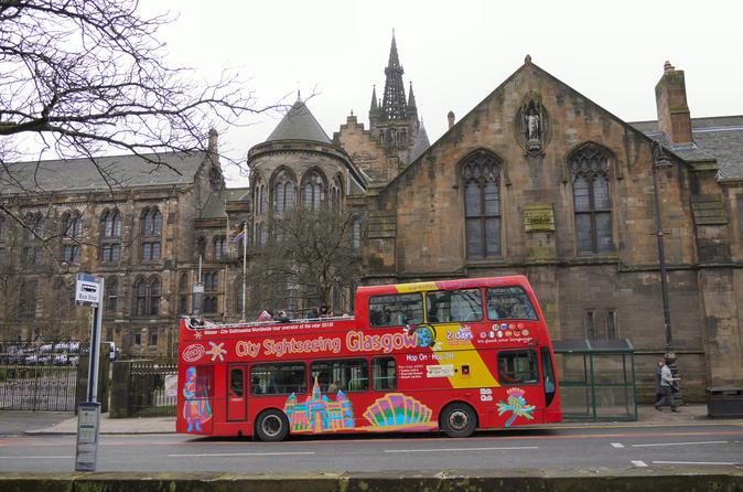 Excursão turística pela cidade em ônibus panorâmico em Glasgow