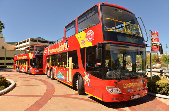 Tour Hop-On Hop-Off di Johannesburg con City Sightseeing