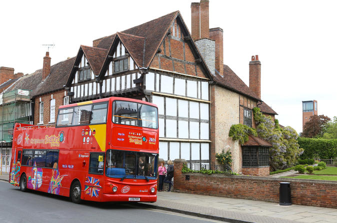 Tour Hop-On Hop Off di Stratford-upon-Avon con City Sightseeing