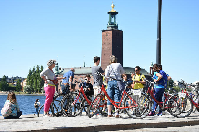 Best of Stockholm City and the National City Park - 3 hour Bike Tour