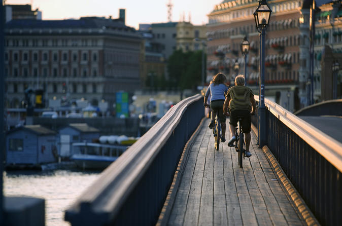 Private 3h Bike Tour: Best of Stockholm City and the National City Park