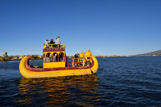 Half day boating tour to uros from puno in puno 242573