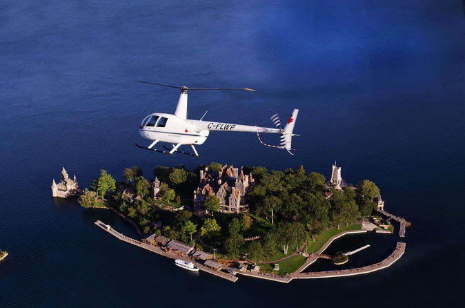 Boldt castle and thousand islands helicopter tour in gananoque 247793