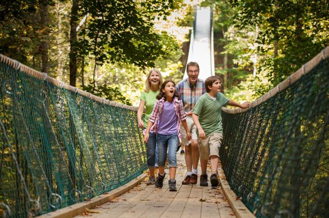 Discover foxfire mountain adventure park activity pass in pigeon forge 258057