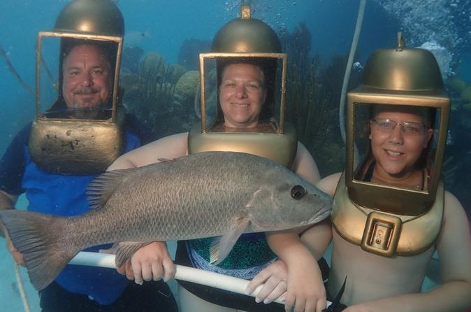 Hartley Helmet Diving in Bermuda