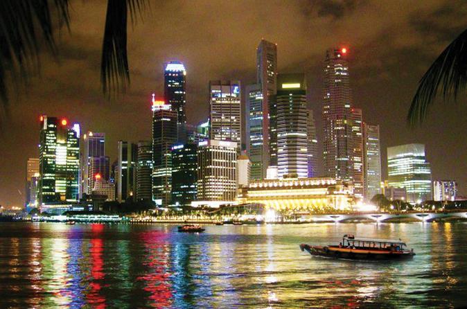 Excursão noturna de Cingapura: Jardins da Baía, Marina Bay Sands SkyPark e cruzeiro fluvial