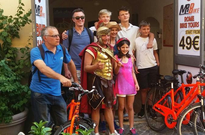 Half-Day Guided Bike Tour of The Other Face of Rome