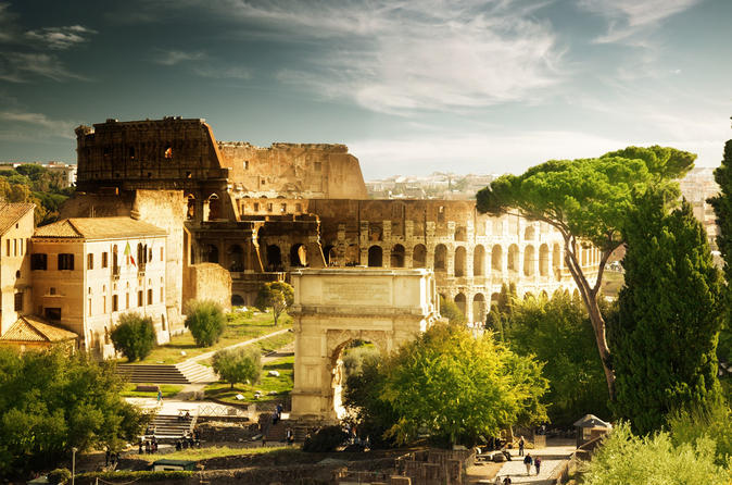 Skip the Line: Colosseum, Palatine Hill and Roman Forum Official Guided Tour - Entrance fee included Image