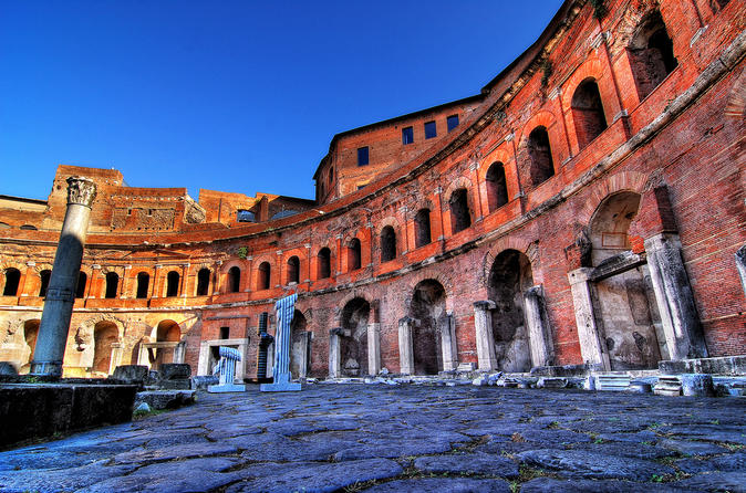 Trajan s Markets & Imperial Forums Museum Private Tour