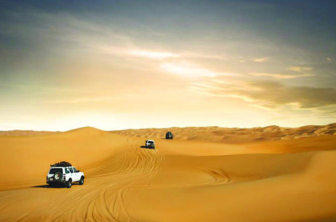 Desert Safari With BBQ Dinner From Dubai: Dune Bashing, Camel Rides, Live Entertainment