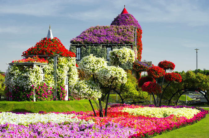 Miracle Garden + Global Village Dubai