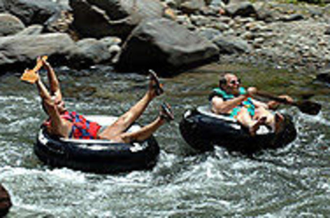 Dominica Shore Excursion: River Tubing Safari