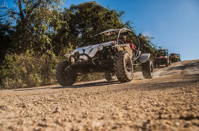 Buggy Tour in Playa del Carmen with Cenote Swim and Mayan Village Visit