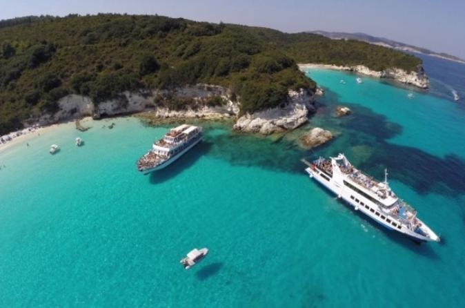 Ionian Islands Cruises, Sailing & Water Tours