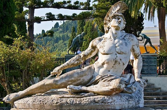Shore Excursion: Royal Palaces Of Corfu - Small Group Tour