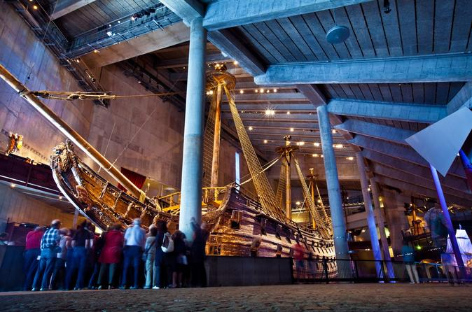 Stockholm Shore Excursion: City Sights and Vasa Views Small Group Tour