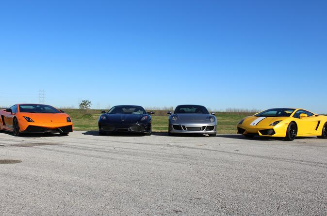 MSR Houston 6 Lap Exotic Driving Experience
