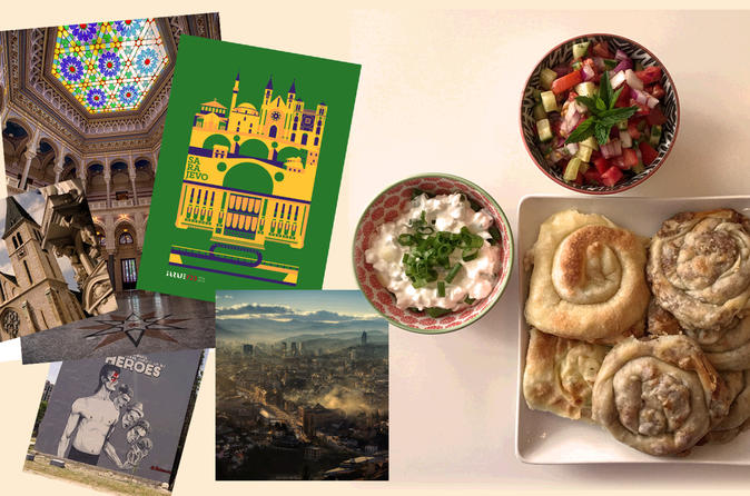 Sarajevo cultural walking tour with local food tasting in sarajevo 434477