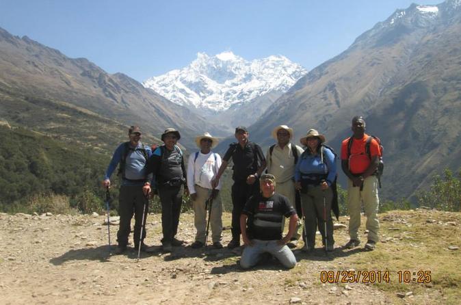 Salkantay to Machu Picchu 5-Day Trekking Tour