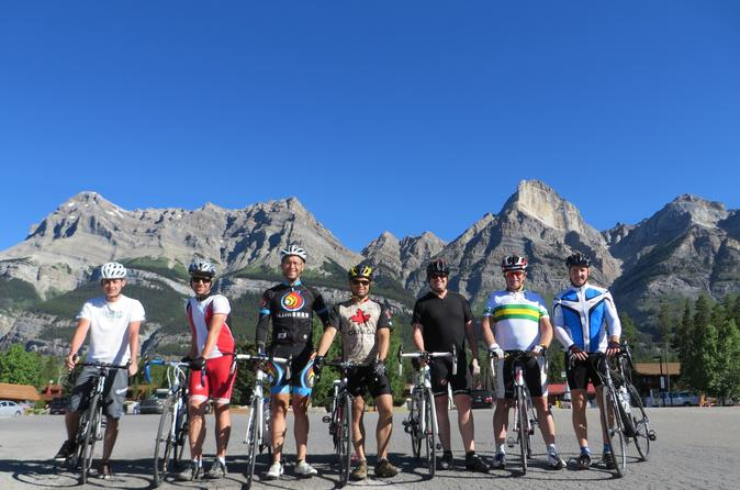 4-Day Bicycle Tour through Canadian Rockies