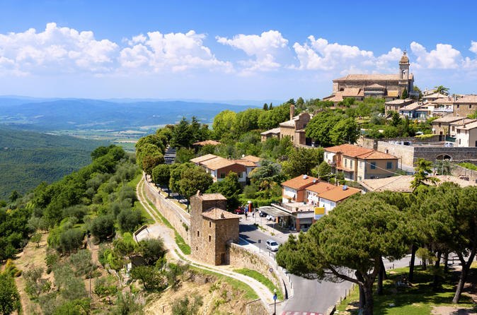 Montalcino Val D'Orcia with Montepulciano or Pienza Fullday from Rome