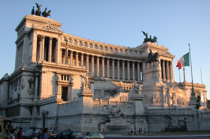Private Half-Day Rome Tour with Professional Guide and Driver