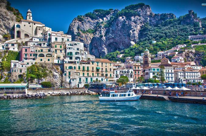 Private Shore Excursion: Amalfi Coast Including Sorrento, Positano, Ravello and Amalfi