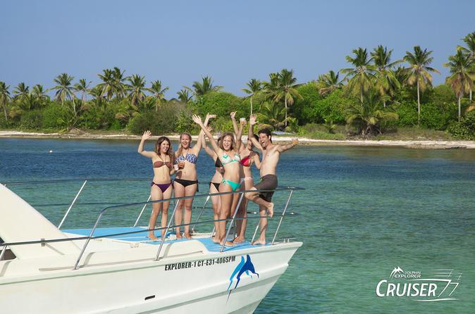 Cabeza de Toro Natural Reserve Catamaran Cruise in Punta Cana