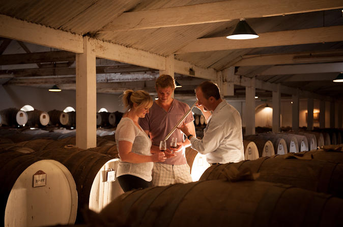 Private barossa valley cellar secrets experience from adelaide in adelaide 315722