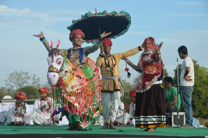 8-Day Golden Triangle Tour with Royal Rajasthan